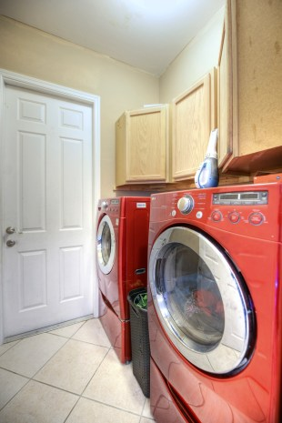 High end appliances - even in the laundry room!