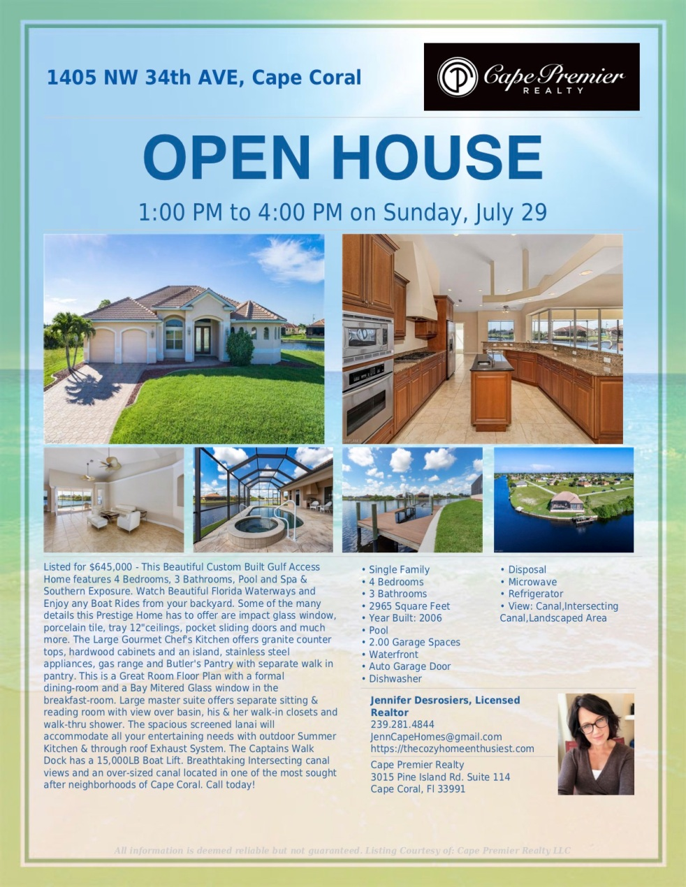 Open House - NW 34th Ave.